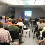 Lecture in Varna about nomadic lifestyle
